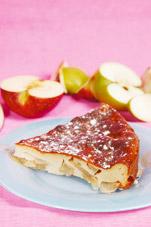 Пирог на скорую руку с яблоками