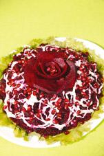 Салат «Черная роза»