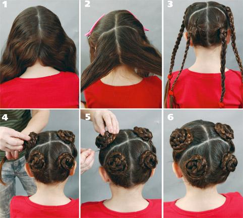 Кручу волосы